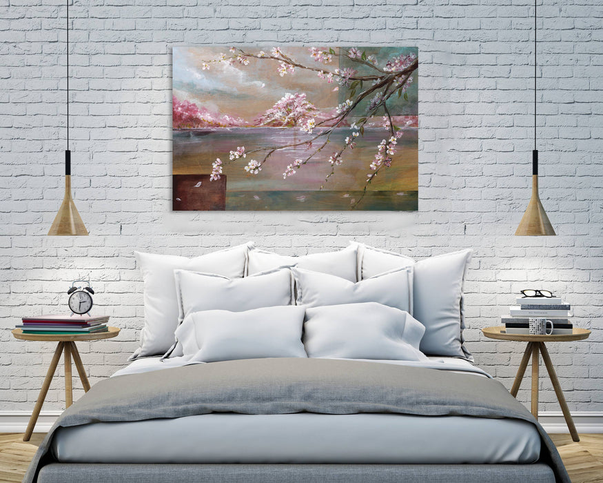 Sakura Cherry Blossom Gallery Wrapped Canvas-Art-humblys.com