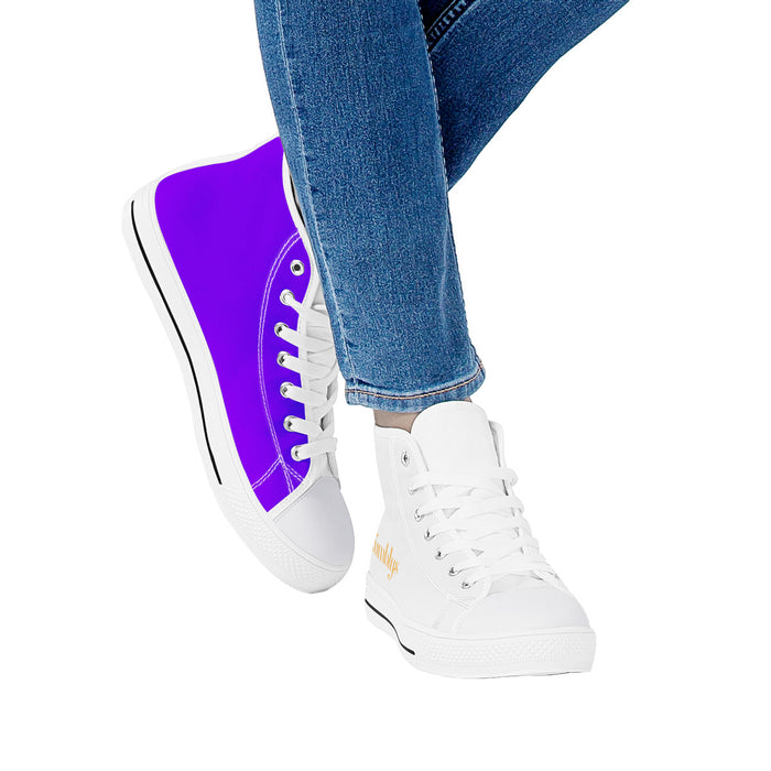 Showoff Bright Violet Unisex Shoes-Shoes-humblys.com