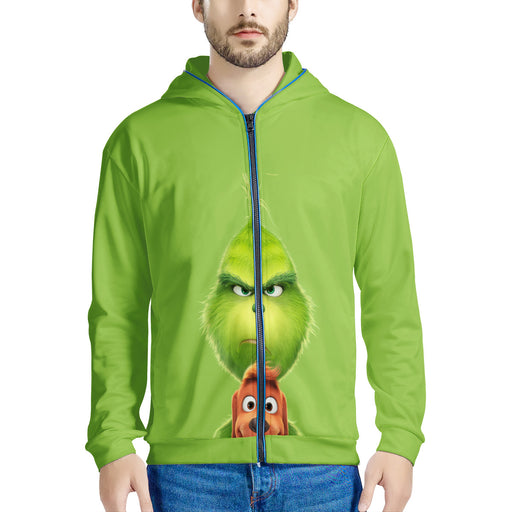 The Grinch and Puppy Light Up Jacket!-Men clothing-humblys.com