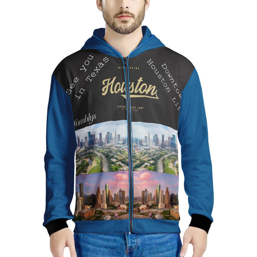 """See you in Houston"" LED Jacket-Women-humblys.com"