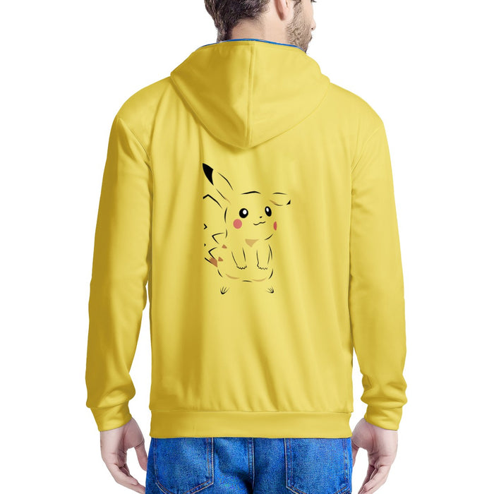 Pikachu Character LED Light Up Hoodie-Women-humblys.com