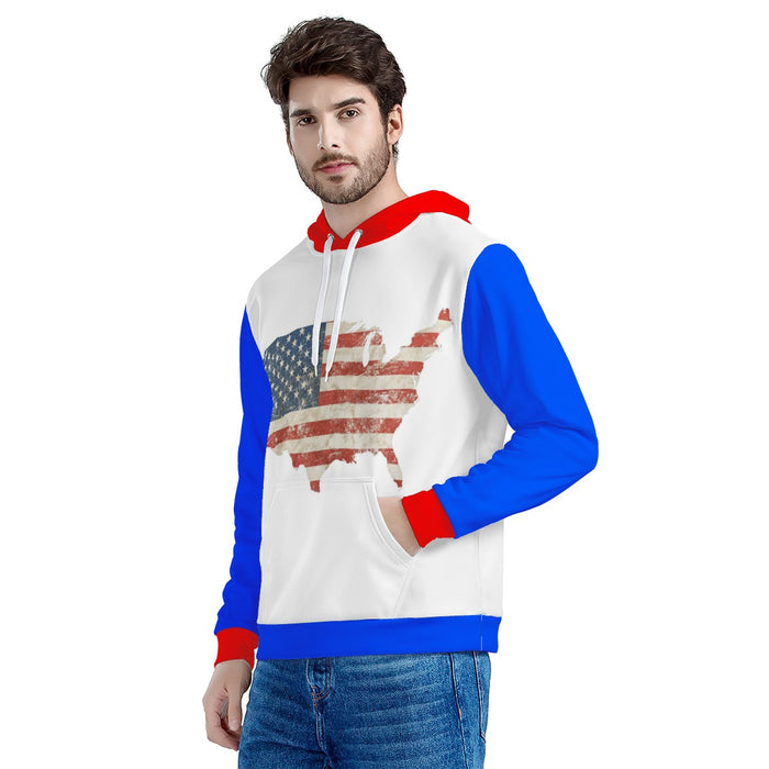 USA Men's Hooded Jacket!-Men's Clothing-humblys.com