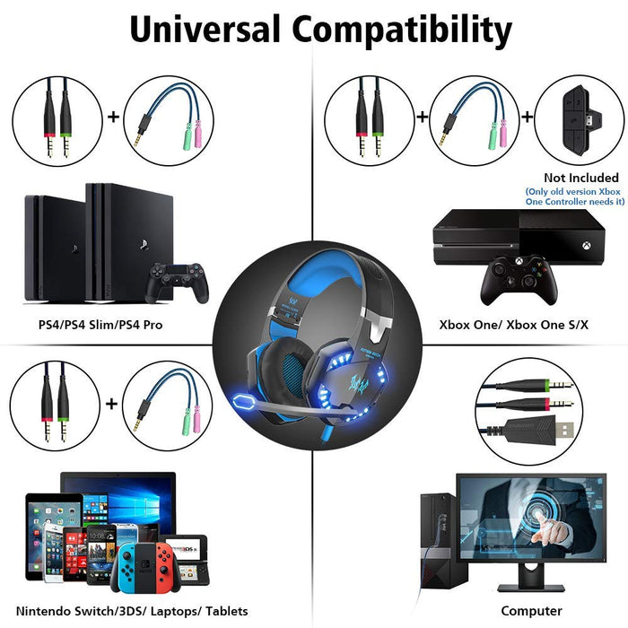 Gaming Headset For Xbox/PS4/PC/Mac-gadgets-humblys.com