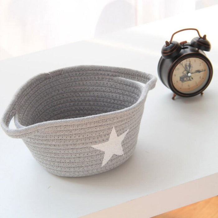 Foldable Cotton Basket-Other-humblys.com