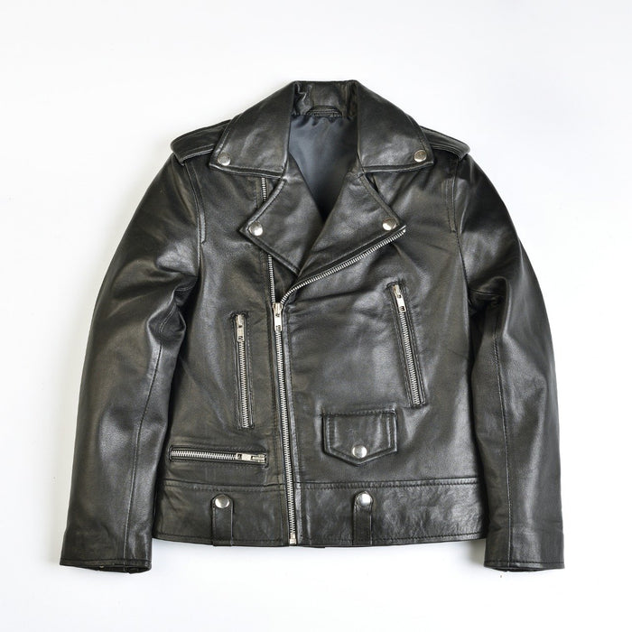 Youth Corver Moto Leather Jacket-Boys Leather Jacket-MKL Apparel-MKL Apparel Inc