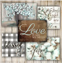Love is All I Need - Farmhouse Canvas Set-Art-humblys.com