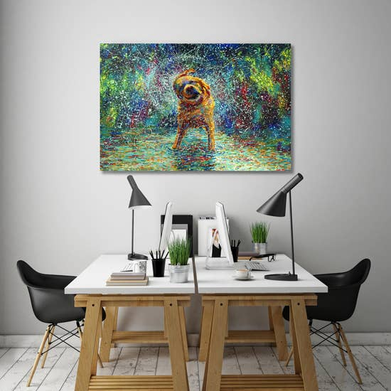Shakin' Jake Gallery Wrapped Canvas Art-Art-humblys.com