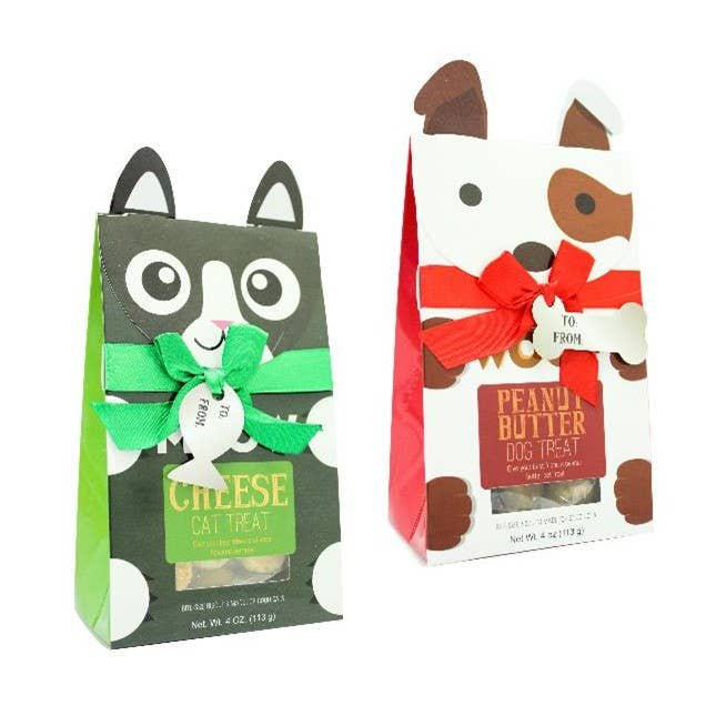 Furry Pet Character Baked Treats - Case of 12-pet care-humblys.com