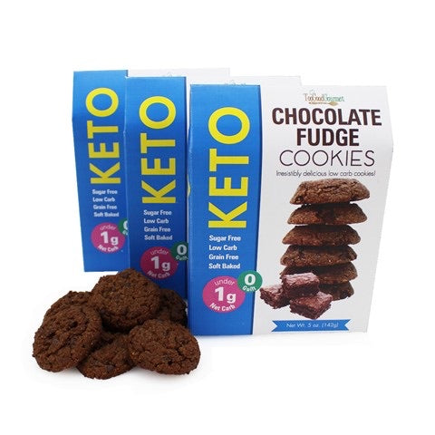 Keto Chocolate Fudge Cookies-Cookies-humblys.com