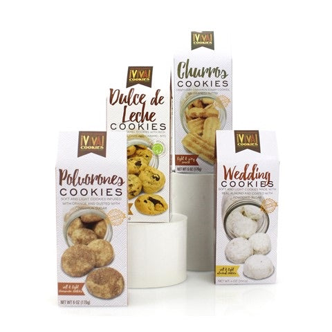 Flavorful Assorted Case Of 4 Cookies-Cookies-humblys.com