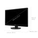 "VIEWSONIC VA2246MH-LED - LED MONITOR - FULL HD (1080P) - 22""-Computer Monitor-humblys.com"