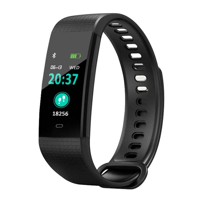 Smart Wrist Watch Waterproof Fitness Sports Bracelet Men Women Blood Pressure Heart Rate Monitor Sleep Monitor for Android iOS-humblys.com