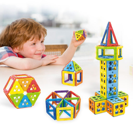 Magnetic Blocks Magnet Tiles-toys-humblys.com