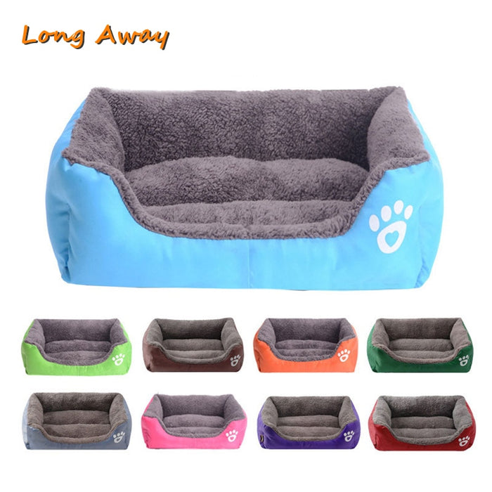 Comfy Calming Dog Beds for Large Medium Small Large Dogs Puppy Labrador Amazingly Cat Marshmallow Bed Washable Plush Pet Bed-humblys.com