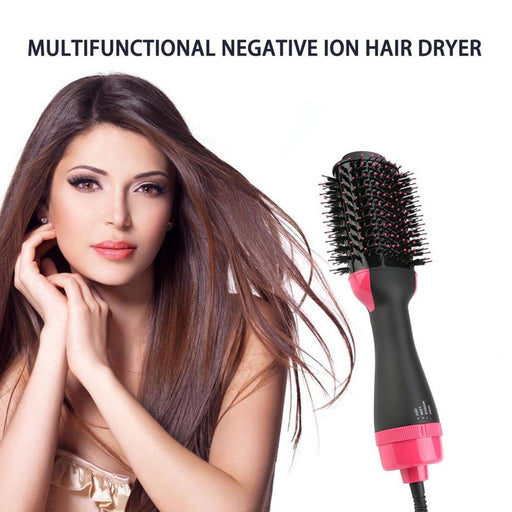 Electric Heating Hair Straightener with a Hair Straightening Brush-HairStraightener-humblys.com
