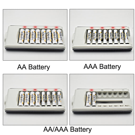 8 Slots LED Light Smart Battery Charger-Electronics-humblys.com
