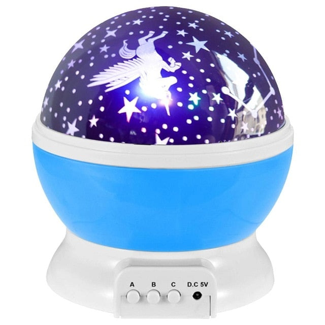 Night Light Projector for Boys and Girls-gadget-humblys.com