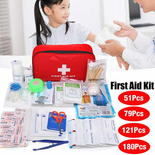 Camping Hiking Car First Aid Bag Kit Medical Emergency Kit-humblys.com