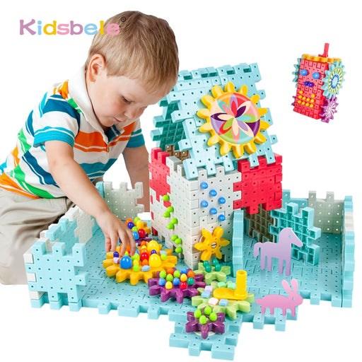 Kids Blocks Toy Assembly Building Blocks-toys-humblys.com