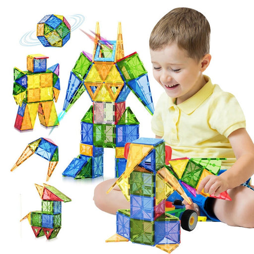 Magnetic Building Blocks For Children-toys-humblys.com