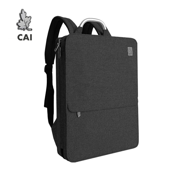 CAI Waterproof 14 15.6 inch Laptop Backpack Men/Women luxury Slim Bag School back pack Business Travel Fashion Style Bookbag-Backpack-humblys.com