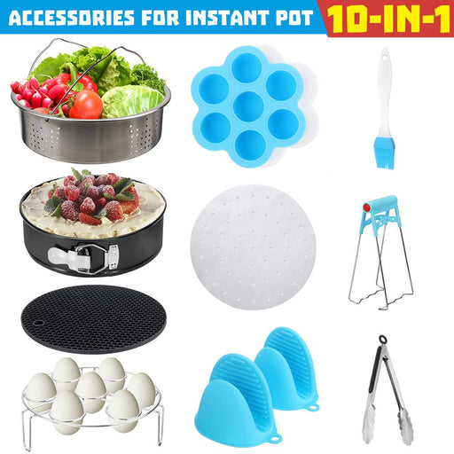 Instant Pot 10 Pcs Pressure Cooker Pot Accessories-Home-humblys.com