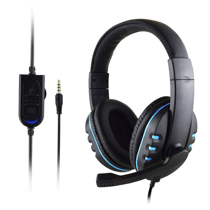 Black Noise Cancellation Gaming Headset-gadgets-humblys.com
