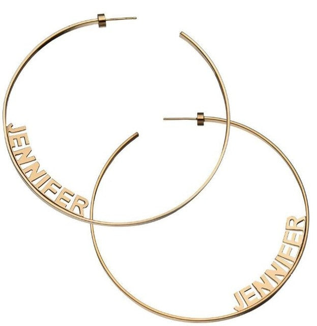 Stylish Hoop Earrings For Women-Jewelry & Watches-humblys.com