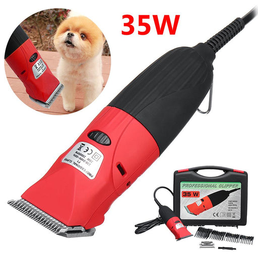 1Pc 220V 35W Professional Electric Pet Dog Cat Hair Trimmer Clipper Grooming Kit-Grooming-humblys.com