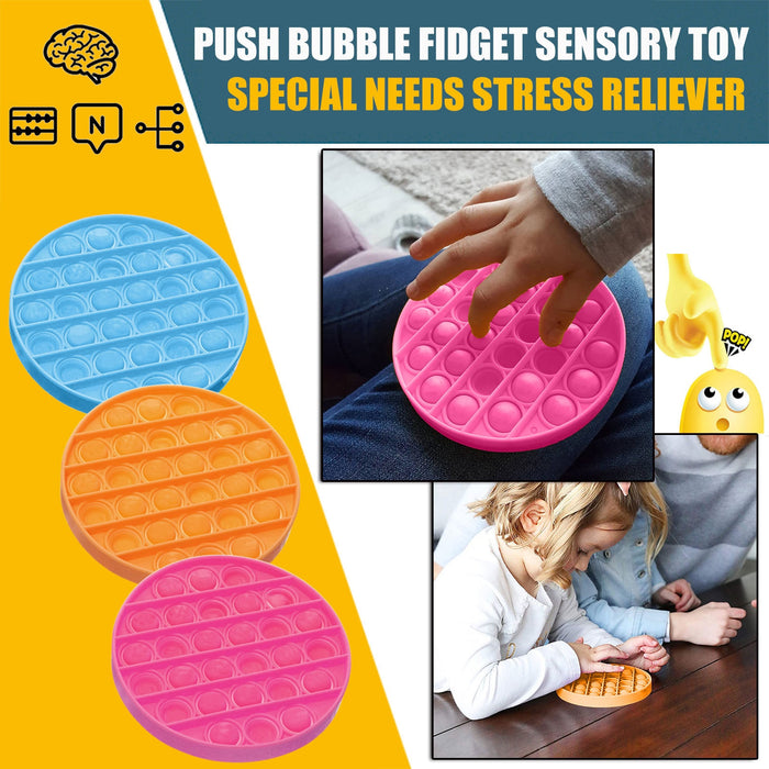 Antistress Toys Bubble Popping Game Push Fidget Sensory Toy-Baby Product-humblys.com