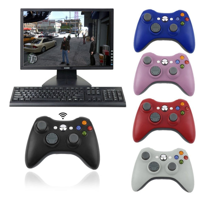 2.4G Wireless Remote Controller For Xbox 360 Computer With PC Receiver With USB Gamepad For Microsoft Xbox360 Joystick Controle-Consumer Electronics-humblys.com