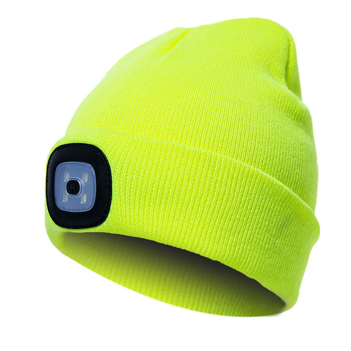 Unisex Climbing Hat Fishing Camping Knitted LED Light Outdoor Running Beanie-humblys.com