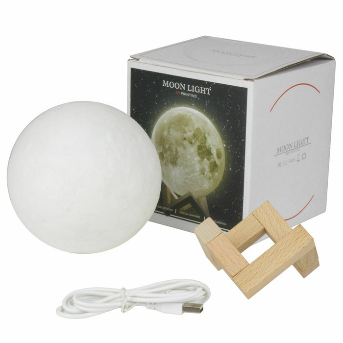 3D Printing Moon (Looks Like the Real Moon!)-gift ideas-humblys.com