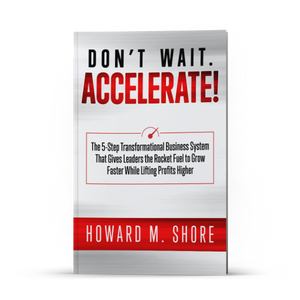 Don't Wait. Accelerate! (Paperback)