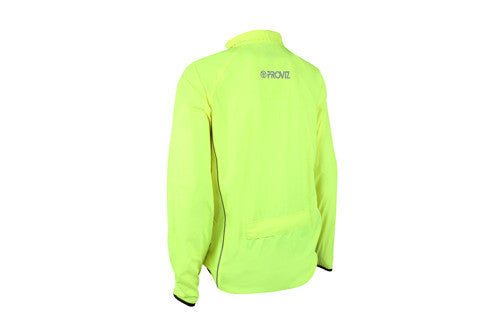 Men's Proviz Lightweight Hi-Viz Jacket - Back
