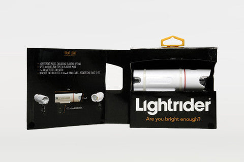 Lightrider Bicycle Light - Package
