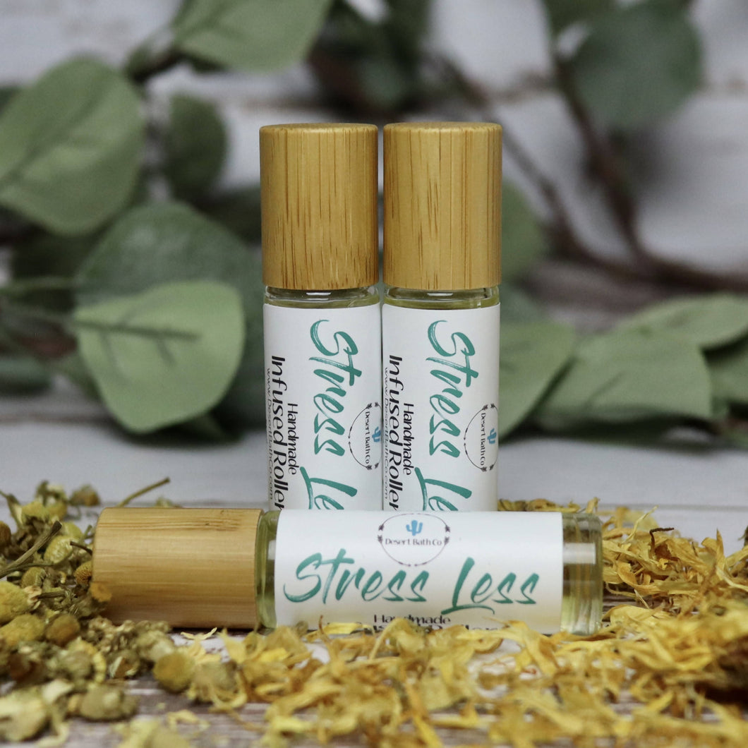 Stress Less Infused Aromatherapy Roller