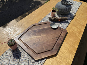 BBQ and Grill Board in Character Walnut