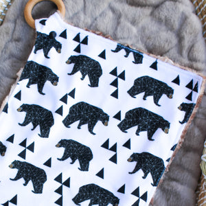 Minky Lovey Blankets, Many Print Choices