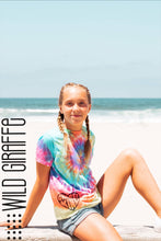 Load image into Gallery viewer, TIE DYE Choose Kind Youth Tee