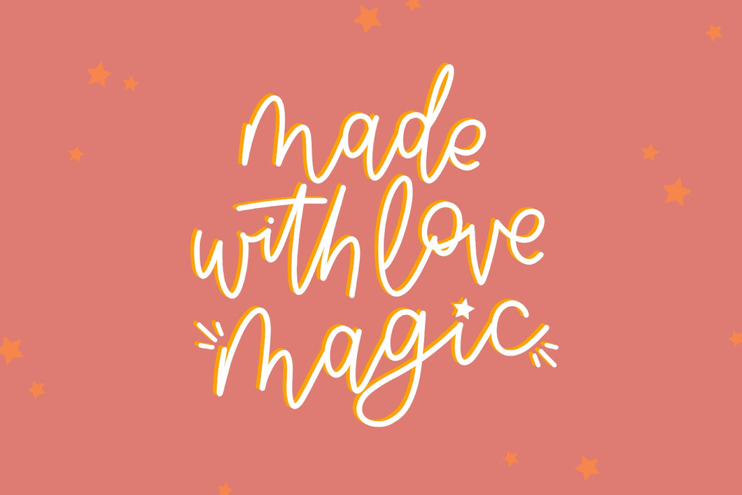 Made with Love Magic - Gift Card