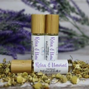 Relax & Unwind Infused Aromatherapy Roller