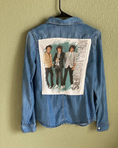Jonas Brothers denim shirt