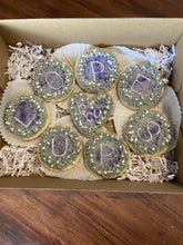 Load image into Gallery viewer, One dozen Custom sugar cookies with buttercream frosting