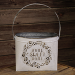 Home Sweet Home Container w/Handle