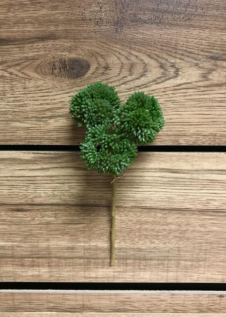 Real Touch Sedum Pick- Green 9