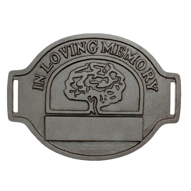 In Loving Memory Tree Plaque