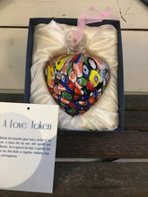 Load image into Gallery viewer, Blown Glass Heart - Love Token