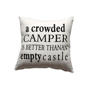 Cushion - Crowded Camper