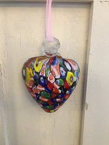 Blown Glass Heart - Love Token